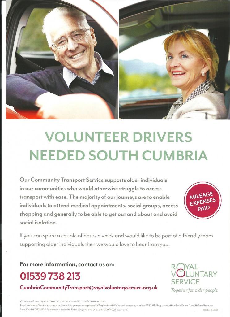 RVS Volunteer Drivers Poster